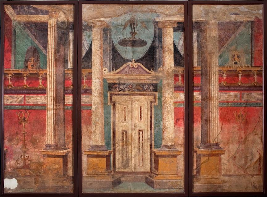 Decorazione architettonica dalla Villa di P. Fannio Sinistore a Boscoreale (inv. s.n.)