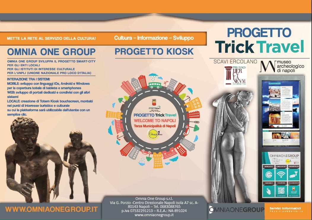 Inaugurazione del Totem Kiosk Smart City alla Pro Loco di Ercolano Presso Scavi di Ercolano