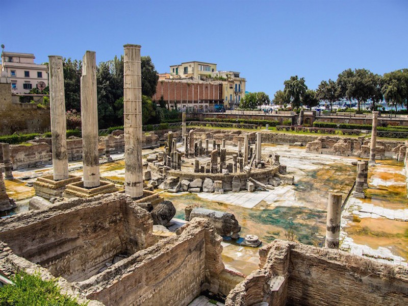 MACELLUM - TEMPIO DI SERAPIDE (sito archeologico)