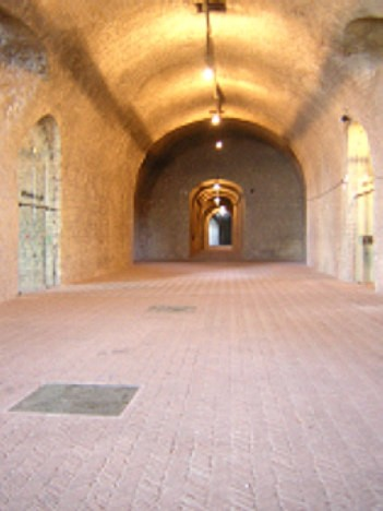 Castel Sant'Elmo: Sala Cannoni