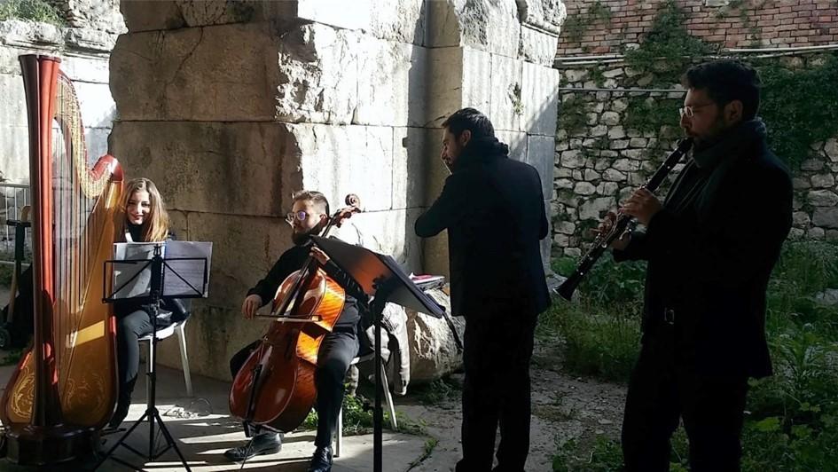 sabato 30 marzo 2019,  ore 10.30 - Aperitivo in musica - Teatro romano di Benevento