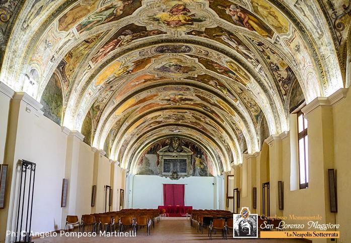 Complesso di San Lorenzo Maggiore: Sala Sisto V