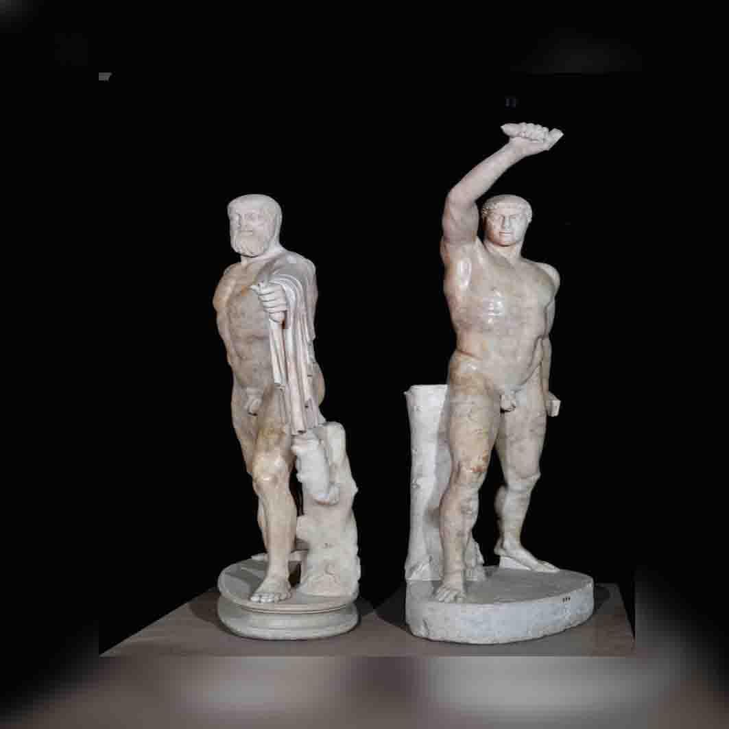 Statue dei Tirannicidi Armodio e Aristogìtone