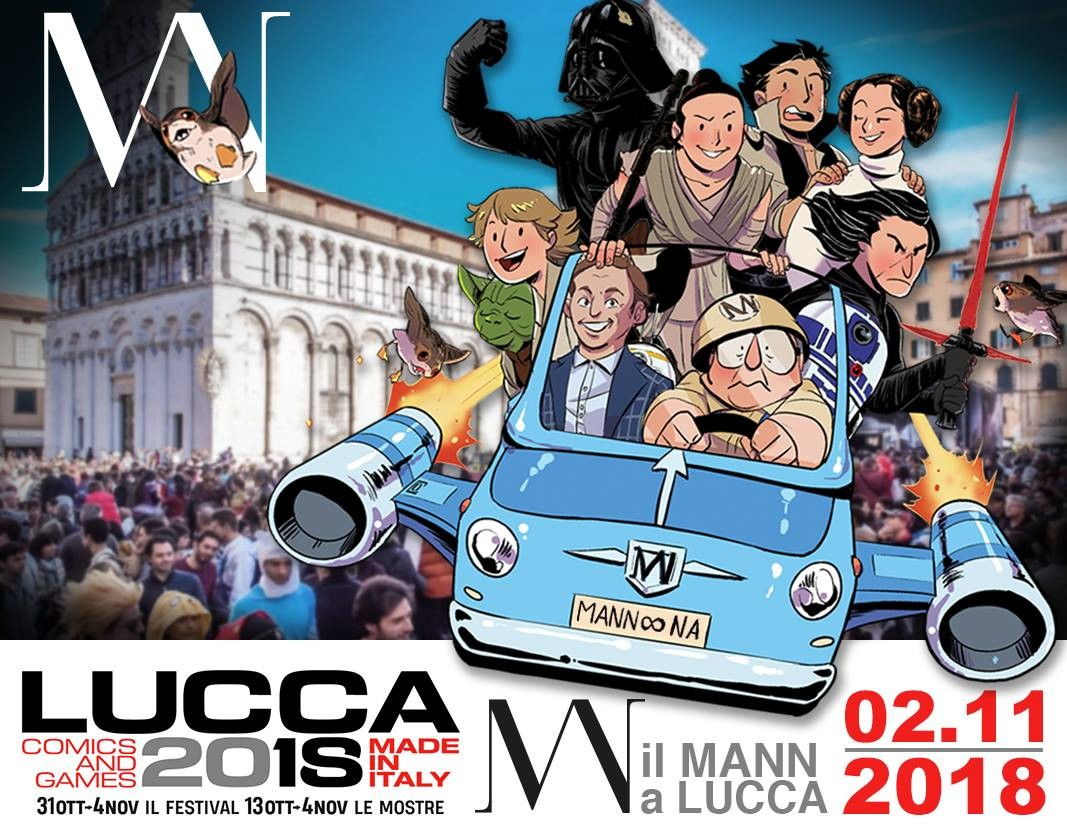 Il Mann a Lucca Comics and Games 2018
