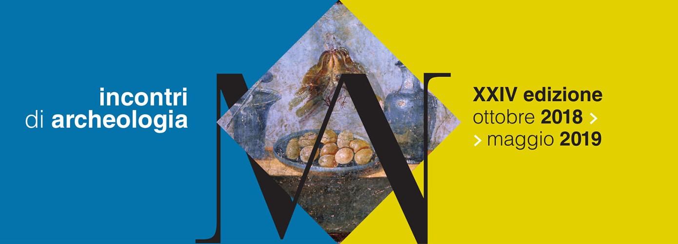 Incontri di archeologia: da giovedì 25 ottobre al 29 maggio2019 riparte il ciclo di conferenze al MANN
