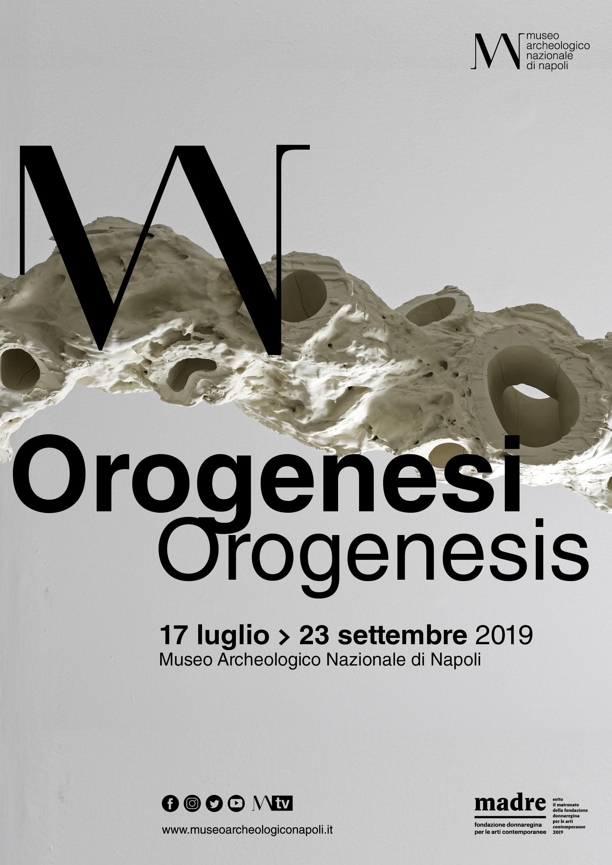 """Dal 18 luglio al 22 settembre, la mostra """"Orogenesi/Orogenesis"""", opening 17 luglio 2019, ore 17"""