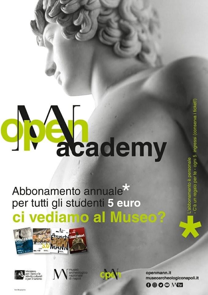 Abbonamento annuale 5€ per gli studenti