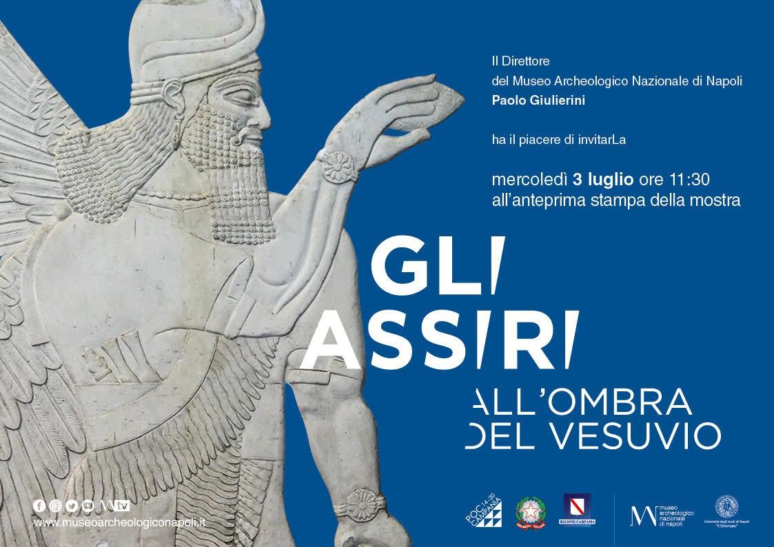 Gli assiri all'ombra del Vesuvio dal 3 luglio al 16 settembre